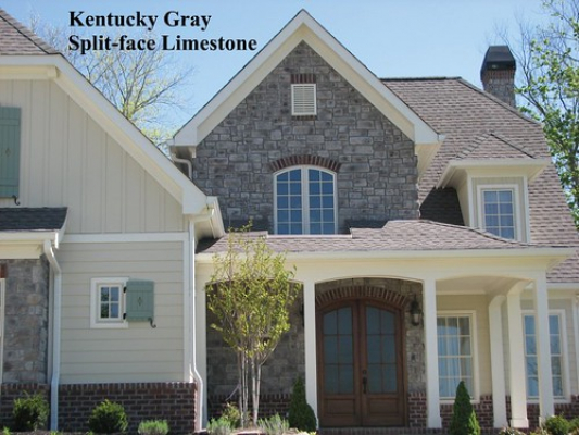 "Kentucky Gray / Split-face Limestone • <a style=""font-size:0.8em;"" href=""http://www.flickr.com/photos/40903979@N06/4231033985/"" target=""_blank"">View on Flickr</a>"