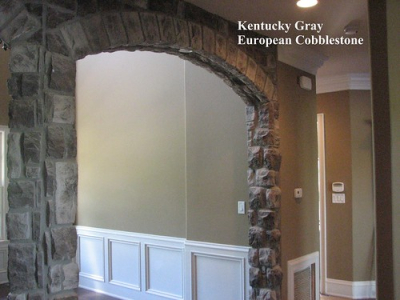 "Kentucky Gray European Cobblestone Indoor Archway • <a style=""font-size:0.8em;"" href=""http://www.flickr.com/photos/40903979@N06/4288380530/"" target=""_blank"">View on Flickr</a>"