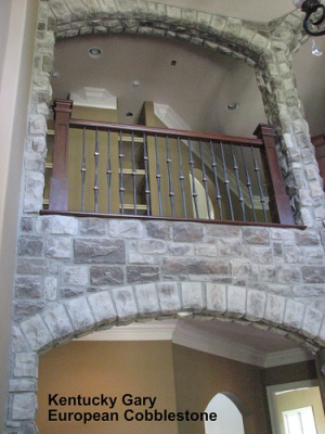 "Kentucky Gray European Cobblestone Indoor Archway 1 • <a style=""font-size:0.8em;"" href=""http://www.flickr.com/photos/40903979@N06/4288381078/"" target=""_blank"">View on Flickr</a>"