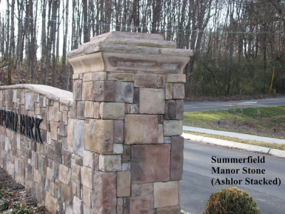 "Summerfield Manor Stone  Entry Column • <a style=""font-size:0.8em;"" href=""http://www.flickr.com/photos/40903979@N06/4288599842/"" target=""_blank"">View on Flickr</a>"