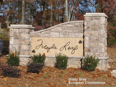 "Dusty Gray European Cobblestone Entrance Sign • <a style=""font-size:0.8em;"" href=""http://www.flickr.com/photos/40903979@N06/4288596052/"" target=""_blank"">View on Flickr</a>"